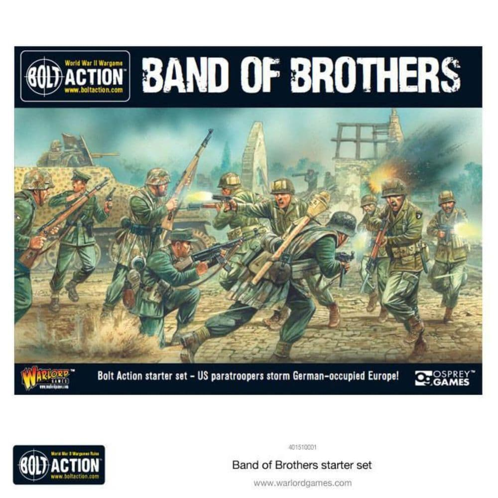 Bolt Action 2 Player Starter Set - Band of Borthers
